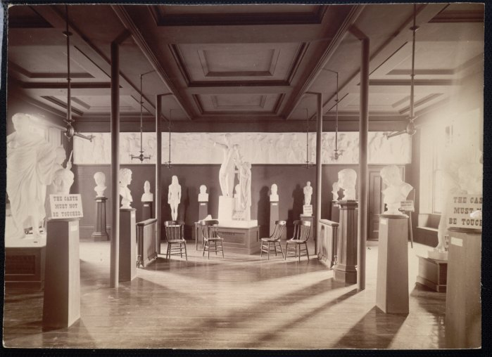 Gallery of Classical Antiquities, ca 1893